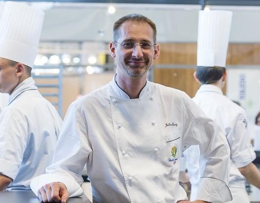 Julien Binz - Resto des Chefs - Equip Hotel. 18 Novembre 2014. Paris Porte de Versailles